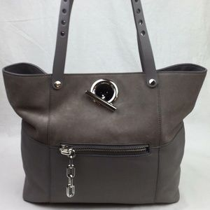 ALEXANDER WANG Riot Suede & Leather Tote